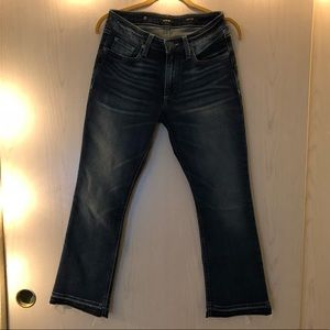Miss Me Crop Boot Jeans Size 28